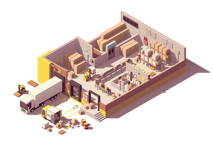 Warehouse Management Line Production Quality Intelligence Business Intelligence